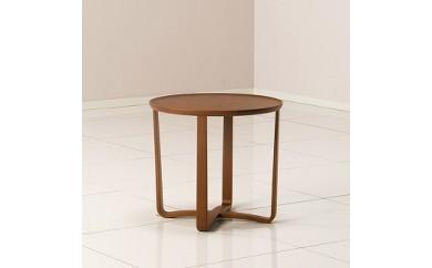 ガーベラリビング 丸テーブル Ф50(L)/ウォルナットCW