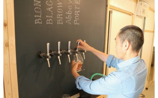 オシャレな「SHIKI BEER」の醸造所。