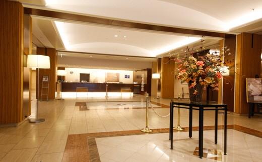 加古川プラザホテル ツインルーム朝食付ペア宿泊券