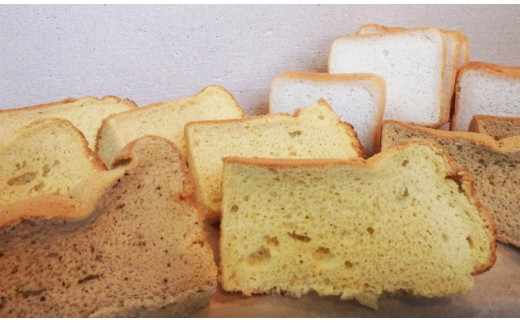 CI-1 【国産米粉100%】2種のシフォンケーキと食パンセット