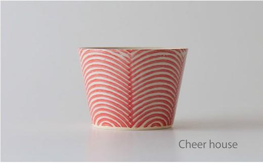 AC12 【波佐見焼】Cheer house ウェーブ お茶碗・カップセット-5
