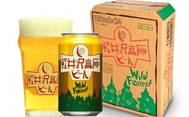 [№5865-0267]24缶 軽井沢高原ビールワイルドフォレスト