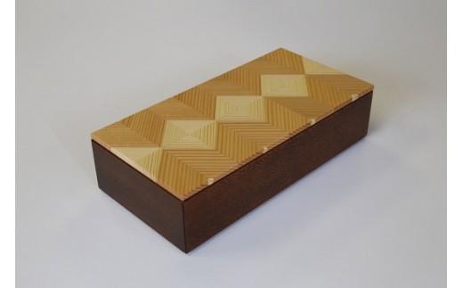 40002 「結粋」:お弁当箱(L)(本漆仕上げ)
