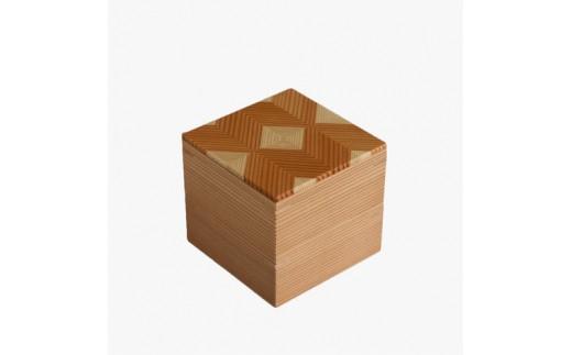 30045 「結粋」:お弁当箱(こ重2段)(ウレタン塗装仕上げ)