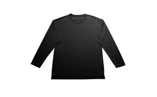 リカバリーウェア A.A.TH / ロング Tシャツ ※カラー:ブラック/ サイズ SS【1067590】