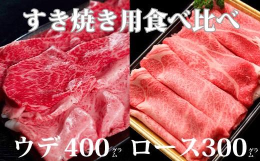 【倉薗牧場】倉薗牛すき焼き用食べ比べ   31-BF22