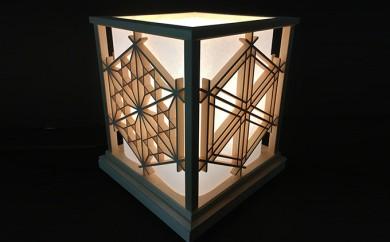 [№5862-1098]創業80年の建具職人がつくる和風ランプシェード