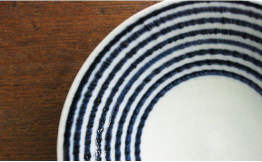 EB86 【マルヒロ 波佐見焼】 藍駒 全6点セット-6