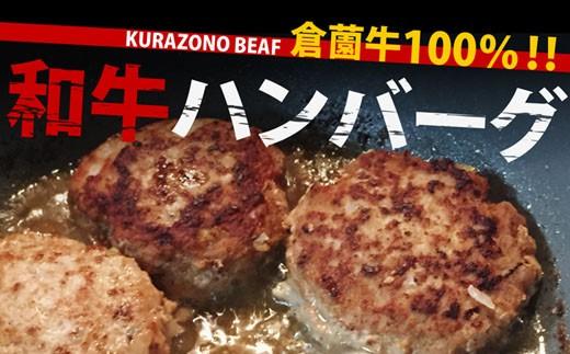 【小林市産】倉薗牛手作りハンバーグセット  30-0514