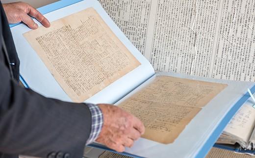 先生宛に送った手紙だったからこそ、戦時中、検閲の目をかいくぐる事ができ、今現在保管・展示されることが可能になりました。