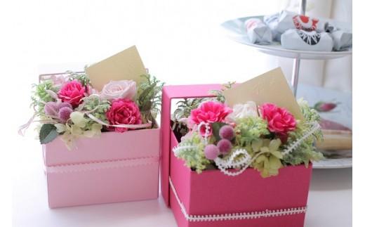 【空気をきれいする】バラとハート 記念日やプレゼントに最適なBOX