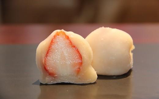 C-12 季節限定・完熟いちごのいちご大福10個入り
