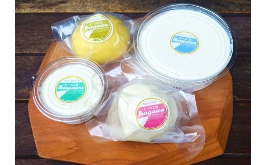 A802 チーズ工房IKAGAWA ジャージーミルクチーズセット