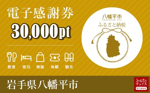 HMC002 岩手県八幡平市 電子感謝券 30,000pt