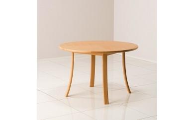 ルントオム 丸テーブル Φ110 /  北海道ナラNF