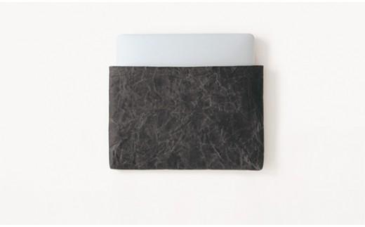 [5839-1176]タブレットケースiPadサイズ/ブラック