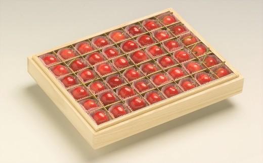 0062-2003 特選さくらんぼ(紅秀峰)48粒【極み】桐箱入
