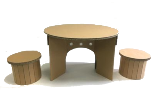 キッズ用テーブル&チェアセット