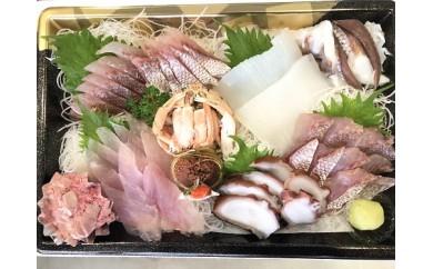 能登の鮮魚を捌いてお届け!旬の刺身盛り合わせセット