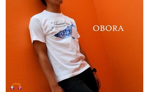 562TOKUNOSHIMA発ブランド OBORA Tシャツ 【OceanParadaise(WHITE)】