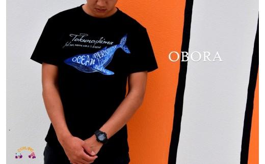 561TOKUNOSHIMA発ブランド OBORA Tシャツ 【OceanParadaise(BLACK)】