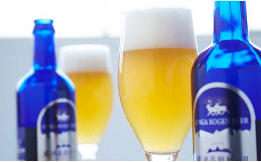 銀河高原ビール シルバーボトル8本セット