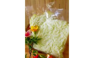 冷凍保存1年可能!! 宮古島産 青パパイヤ しりしり(スライス)3kg