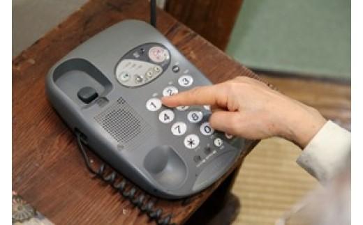 郵便局のみまもりサービス「みまもりでんわサービス」(固定電話)(12か月)