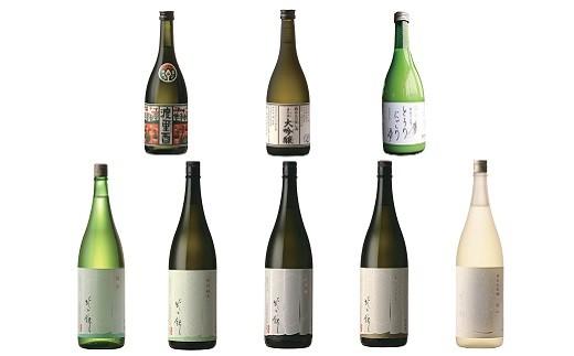 「北の錦」こだわりの極上酒J(720ml×3種&1.8L×5種)