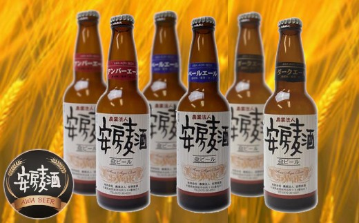 【010-041】クラフトビール「安房麦酒」3種6本セット