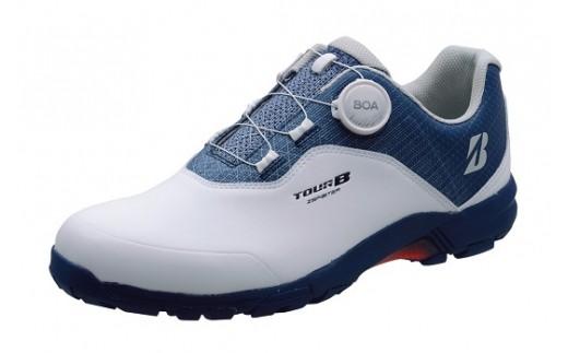 N335 ゴルフシューズ「SHG950」(WN)久留米絣シューズ袋セット