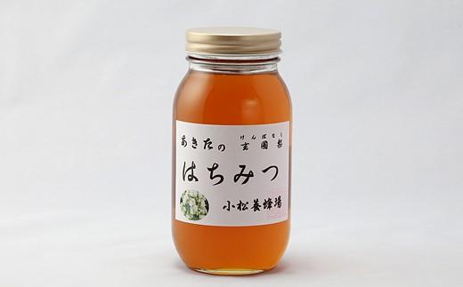 B81168 秋田の玄圃梨蜂蜜1kg