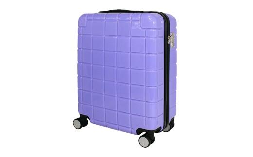 X365 スマートフォン充電用コネクタ搭載スーツケース(ラベンダー)【600pt】