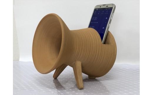陶器製スピーカー