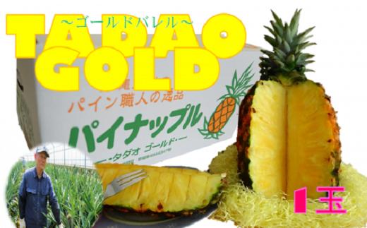 沖縄県東村産!最高級のゴールドバレル【TADAO GOLD】1玉
