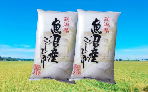 魚沼産こしひかり10kg(5kg×2袋)