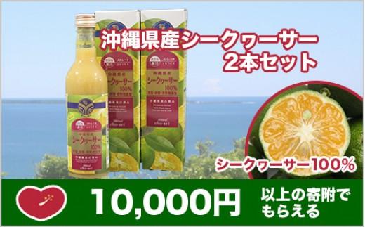 CY02:沖縄県産シークヮーサー2本セット