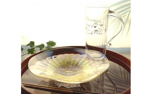 E-104 皿&ジョッキ「花と風の揃え」