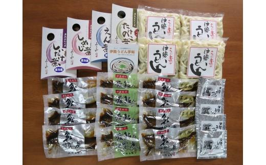 MN-03 料亭の鮎の甘露煮と地元産山菜佃煮セットB