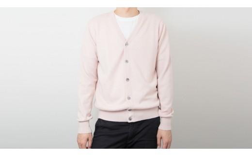 【UTOカシミヤ】メンズ Vネックカーディガン