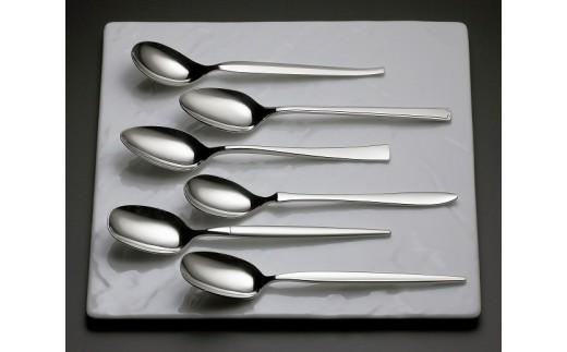 19015161 ラッキーウッド「グッドデザイン賞受賞」コレクション 6pc デザートスプーンセット