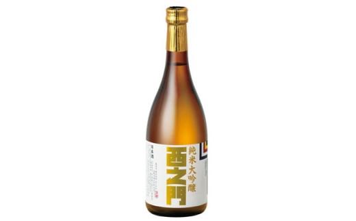 J0091西之門純米大吟醸50%精白720ml