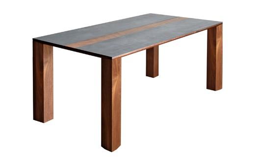 CI-1401-01 Dテーブル バイソン テーブル165 RN/CIG