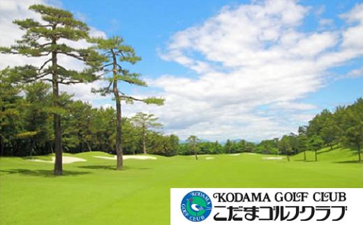 【11211-0013】こだまゴルフクラブ 平日ゴルフプレー券【2枚】
