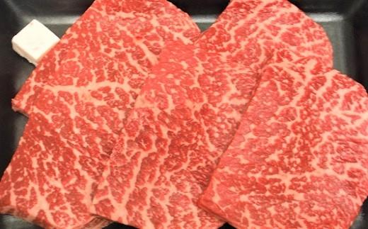 0002-234 山形牛モモステーキ 5枚で500g