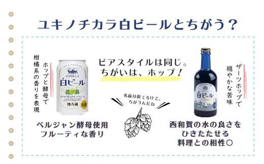 ユキノチカラ白ビールとここはちがう!