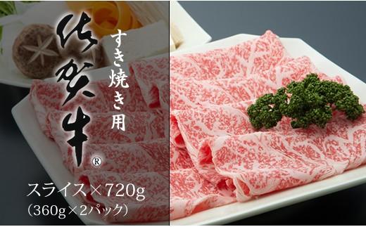 C30-016 佐賀牛スライス肉(720g)焼肉園