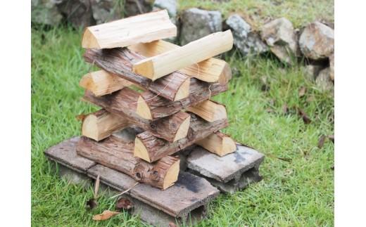 乾燥広葉樹ミックス&焚きつけ用薪のセット 15kg~17kg