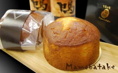 丹波杜氏の酒ケーキ