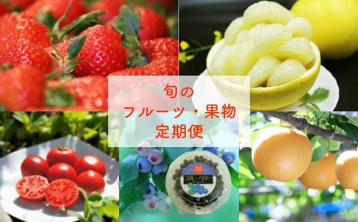 E-3.佐川のくだもの・野菜 定期便(全5回)